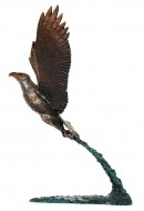 Aigle pêcheur H: 34cm